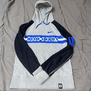 Women's Nike Gray Duke Blue Devils Hoodie